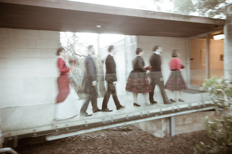 Wedding Party @ Heide Sculpture Park